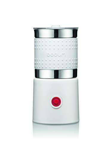 Bodum - 11901-913US Bodum Bistro Elektrischer Milchaufschäumer, 383 ml, Weiß