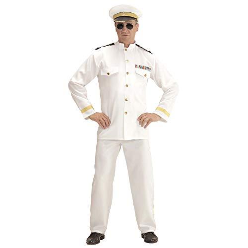 Widmann-WDM06870 Volwassen kostuum voor heren, Wit, WDM06870