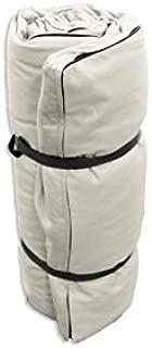 Futon Portatile Bianco ecru 200x80x3 cm