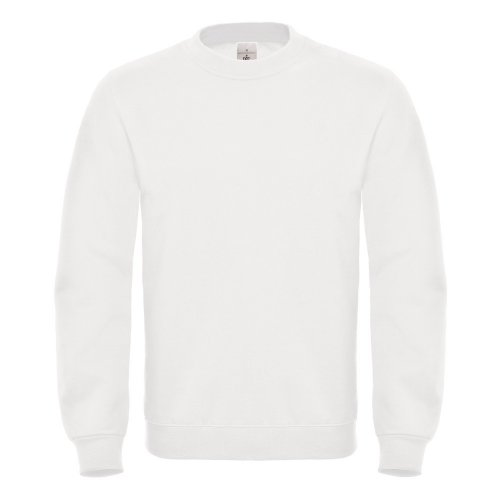 B&C BCWUI20 Ensemble sweat-shirt pour homme Blanc Taille XXL