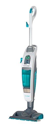 Concept Electrodomésticos cp3000 Aspirador y Limpiador a Vapor, 1600 W, 0.73 litros, 22 g/min, 80 Decibeles, Blanco