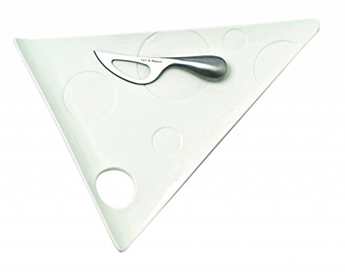 S&P Fromage Planche à fromage avec couteau 37 x 29 cm
