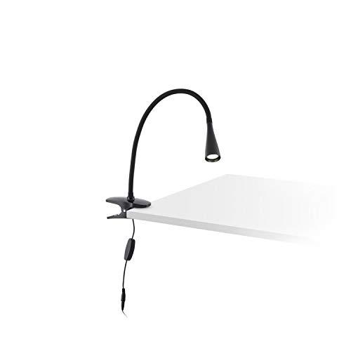 LENA-Lampe à Pince-Noir-LED