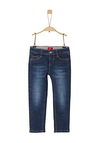 s.Oliver Jungen 64.911.71.3486 Jeans, Blau (Blue Denim strecht 57Z1), 128 (Herstellergröße: 128/REG)