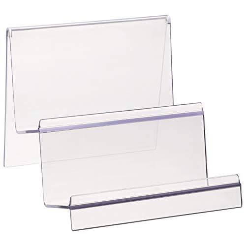 TOPBATHY - Soporte de acrílico Transparente con 2 Niveles para exhibir Joyas, cosméticos y cosméticos