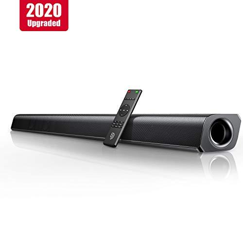 BOMAKER Barre de Son sans Fil 80W 2.0 Canal HDMI TV Haut-Parleur 110 DB Bluetooth 5.0 Son stéréo...