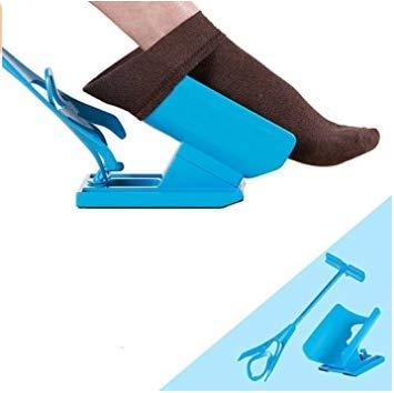 Boheng Slacker Sock Assist Sock Assist Slip-on/Slip-Off Calcetines Helper Slider Kit para Ponerse y quitarse los Calcetines sin doblarse