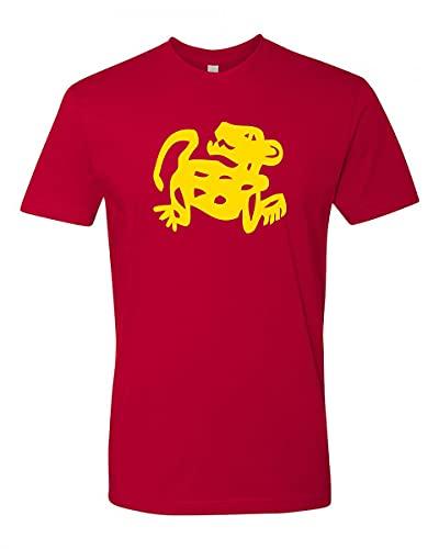 Camisetas do programa de TV Hidden Temple, Jaguar vermelho, XXG