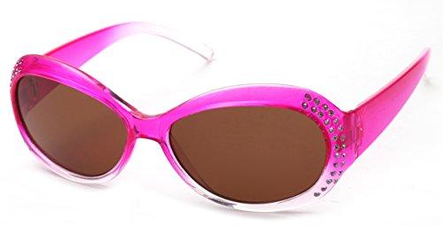 Kiddus Kiddus POLARISIERTE Sonnenbrille für Mädchen, Jungen, Kinder, Jugendliche. UV400 100% Schutz gegen ultraviolette Sonnenstrahlen. Ab 6 Jahren. Mit Stil. Modisch. FABULOUS