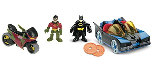 Fisher-Price DC Super Friends Imaginext Batmobile and Cycle by Fisher-Price