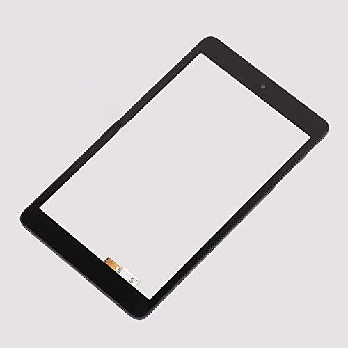 Replacement for Alcatel AT&T Trek HD 9020A WiFi 4G LTE/POP 8 LTE 9021A WiFi+LTE 8' Touch Screen Digitizer Frame Glass Lens Panel Black