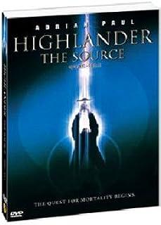 Movie DVD - Highlander - The Source (Region code : 0) (Korea Edition)