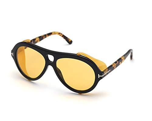 Sonnenbrillen Tom Ford NEUGHMAN FT 0882 Black Havana/Brown Yellow 60/15/145 Herren