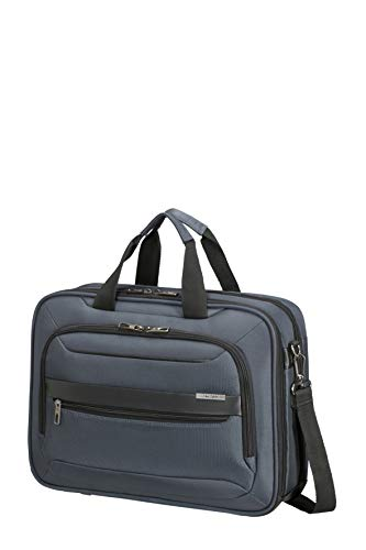 Samsonite Vectura Evo Laptop briefcases, Laptop Bag 15.6 inch (41 cm - 18 L), Blue (Blue)