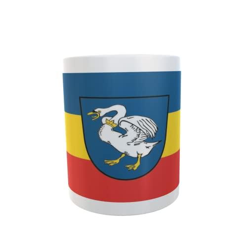 U24 Tasse Kaffeebecher Mug Cup Flagge Schwaan