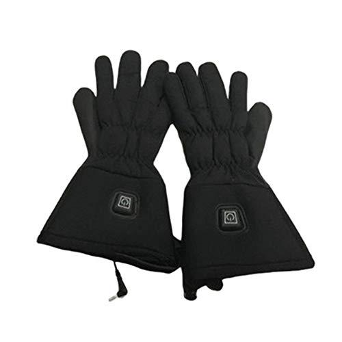 Guantes de invierno Negro de la batería eléctrica de los guantes con...