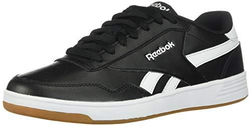 Reebok mens Reebok Classic Men's Royal Techque T Shoes Sneakers, Black/Black/White/Gum, 7 US