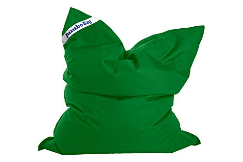 Jumbo Bag 30180 – 33 The Original cojín Gigante poliéster Color Verde Pradera 170 x 130 x 30 cm