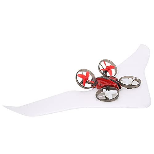 Quadcopter, Flessibile Controllo GIDGING. Aeromobile 9x9x3cm. Plastica, Elettronico Componenti Fatto 12.5x11x5.5 cm. per 10. Minuti (Rosso)