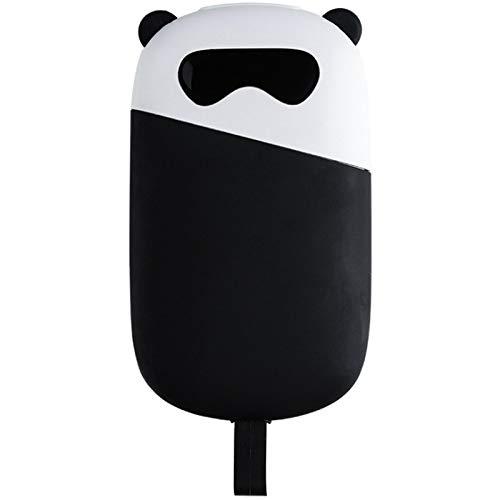 siqiwl Calentador de manos lindo panda calentador de manos portátil portátil pequeño invierno portátil calentador de manos recargable portátil calentador portátil
