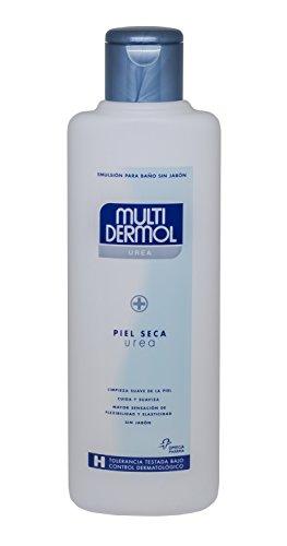 Multidermol Gel Urea - Emulsión para Baño y Ducha Sin Jabón, Indicado para Piel Seca - 750 ml