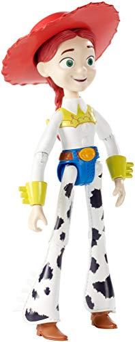 Disney Pixar Toy Story 4 Figurine articulée Jessie, taille fidèle au film, pour rejouer les scènes du film, jouet pour enfant, GGX36