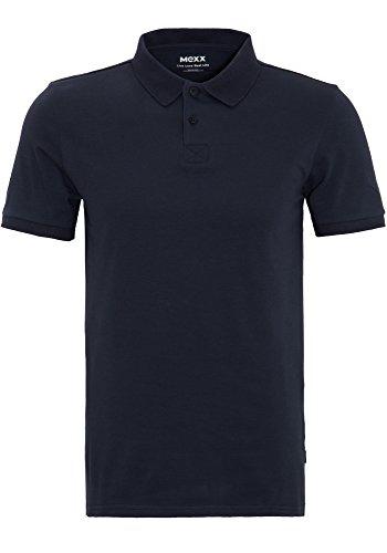 Mexx Herren Pique Stretch Polo Poloshirt, Grau (Sky Captain 067), Medium (Herstellergröße: M)