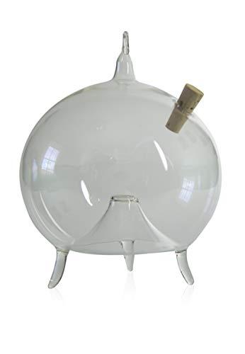 Fliegenfalle zum Stellen und Hängen d 10cm mundgeblasen handgeformt Lauschaer Glas das Original