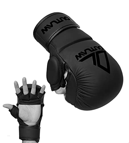 Outlaw MMA Handschuhe Sparring SCHWARZ...