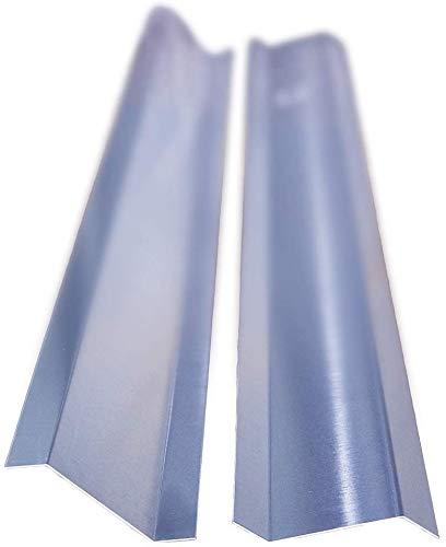 Aluminium Z-Profil 20/60/20 45 Grad Kanten, Länge 1 Meter, HG 8