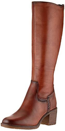 Tamaris Damen 1-1-25604-25 Kniehohe Stiefel, braun, 40 EU