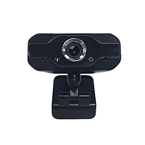 Haoooan Webcam de la red USB del ordenador, portátil 1080P TV Enseñanza en línea Webcast HD Webcam, oficina remota Videoconferencia multifunción Reunión Webcam Conveniente for el hogar, equipo de cómp