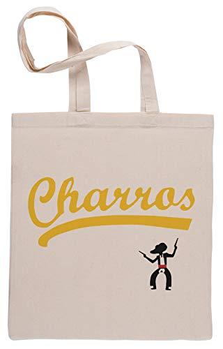Charros Bolsa De Compras Shopping Bag Beige