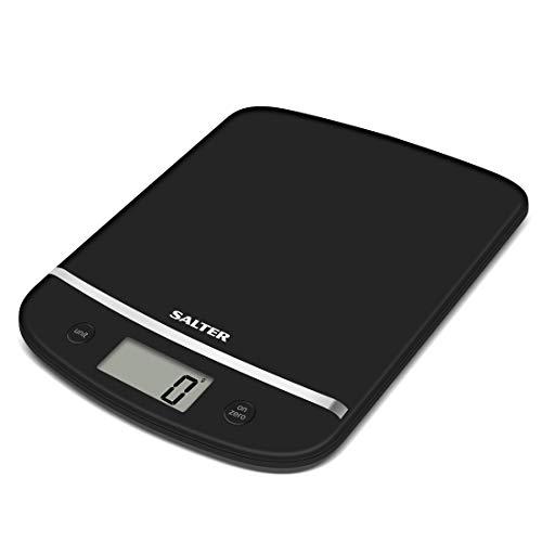 Salter 1009 JSDR Balance de Cuisine numérique, Jewel, Black