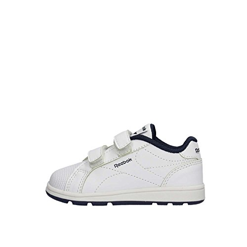 Reebok Bs7943, Zapatillas Unisex bebé, Blanco (White/Collegiate Navy), 18.5 EU