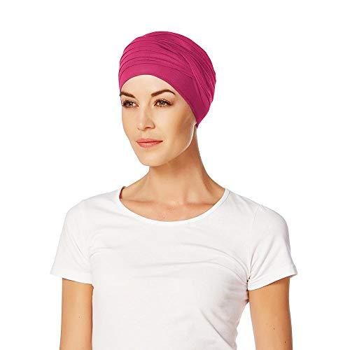 Christine Headwear Turban Shanti Uni Bambou pour Femme (Taille Unique - Pink)