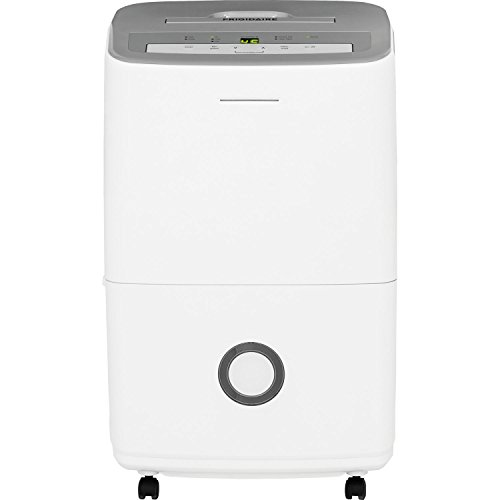 Frigidaire 50-Pint Dehumidifier, Gray & White