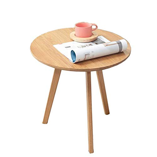 Bed Table, Tables Oak Side Table, Eco-Friendly Coffee Table in Living Room, Balcony Table, Wooden Side Table, Coffee Table, 2 Colors Coffee Table Color : Walnut, Size : 19.6819.6819.68in