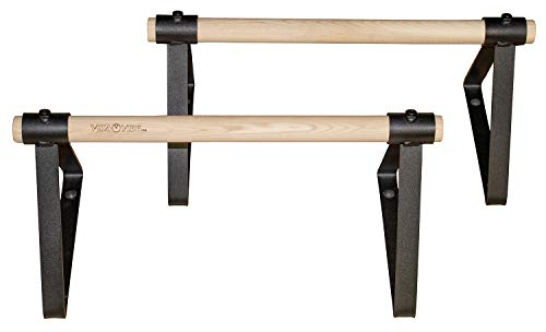 Vita Vibe Wood Parallettes Set 18' - 24' Long (24' Long)
