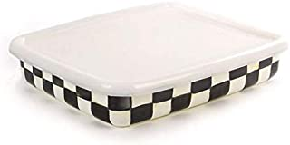 MacKenzie-Childs Courtly Check Enamel Storage Container, Large