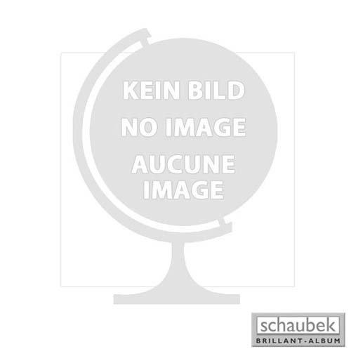 Schaubek Klemmbinder Deutschland blau mit Prägung Deutschland und Wappen (Reichsadler) ohne Schutzkassette DKP320