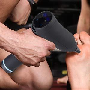 Pistola Massaggio Muscolare, Oxford Street Pistola Massaggiante Professionale Massage Gun Massagggiatore Portatile Elettico 30 Velocità Super Silenzioso Touchscreen LCD con 6 Testine Massaggianti