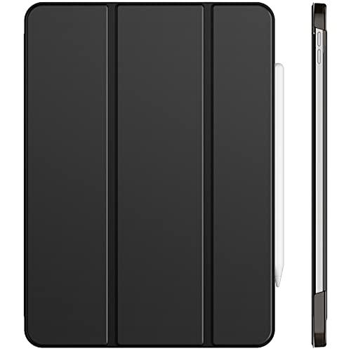 JETech Hülle Kompatibel iPad Pro 11 Zoll, Modelle 2021/2020, Kompatibel mit Pencil, Intelligent Abdeckung Schlafen/Wachen, Schwarz