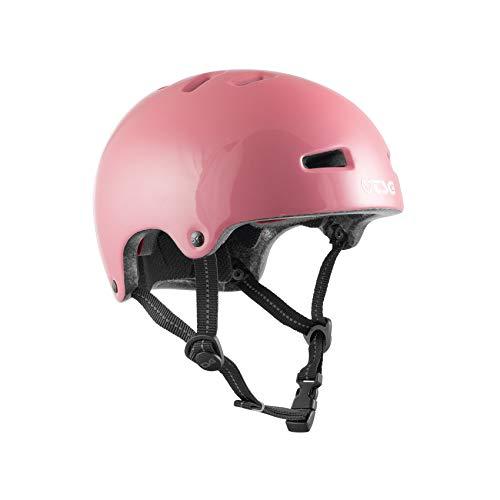 TSG Nipper Mini Solid Color Helm Kinder Gloss Baby pink 2021 Fahrradhelm