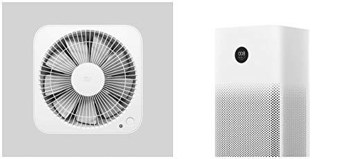 Xiaomi Mi Air Purifier 2s EU version - Purificador de aire, conexión WiFi y pantalla display, para estancias hasta 37m2, 310m3/h, Blanco, 52 x 24 x 24 cm