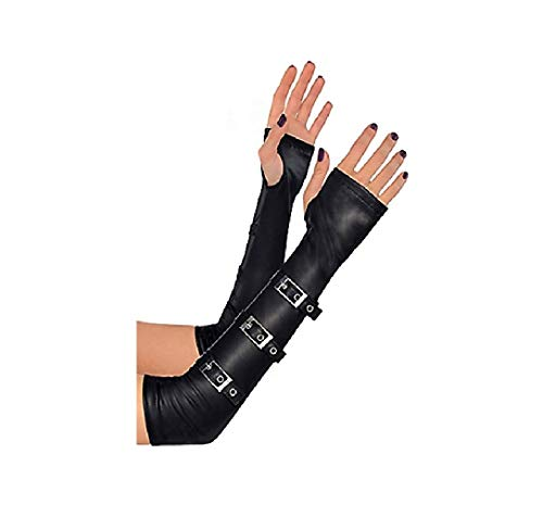 Gothic Arm Warmers with Buckles