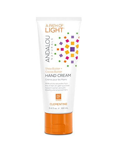 Andalou Naturals Clementine Hand Cream, 3.4 Ounce