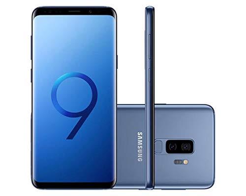 Smartphone Desbloqueado Galaxy S9 Plus, Samsung, SM-G9650ZKKZTO, 128 GB, 6.2, Preto