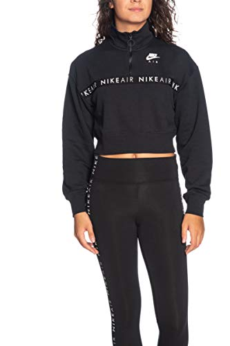 Nike Damen NSW Air Hz Bb Sweatshirt, Black, L
