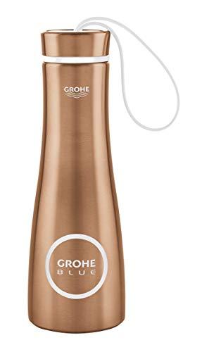 GROHE 40848DL0 Blue Thermo-Trinkflasche, warm sunset gebürstet